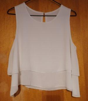 Chicorée Zijden blouse wit