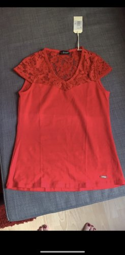 Guess Lace Blouse red