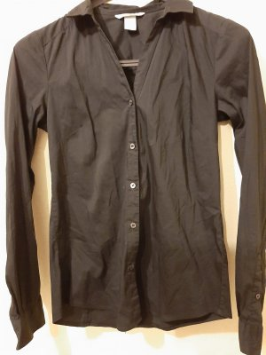Hennes Collection by H&M Blusa vaquera negro