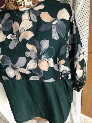 Mango Oversized blouse veelkleurig