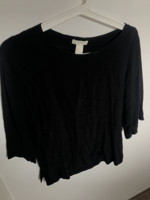 H&M Linen Blouse black