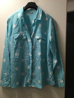 3 Suisses Blusa de manga larga blanco-azul claro