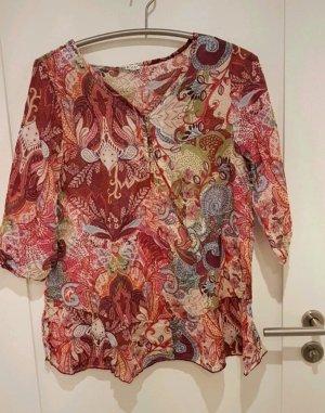 Bluse, 40, neuwertig,floral, BeaTricia,