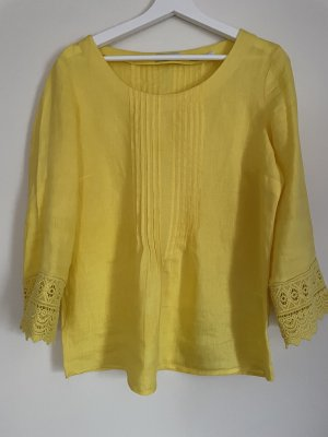 Malvin Linen Blouse yellow