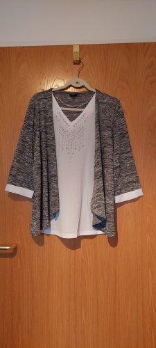 Bexley's Woman Transparante blouse veelkleurig