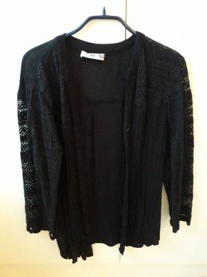 AJC Koronkowa bluzka czarny