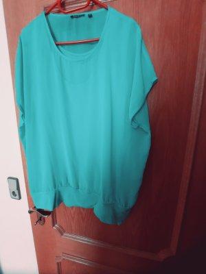 Blue Seven Mouwloze blouse turkoois
