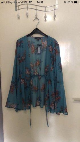Primark Blusa kimono azzurro