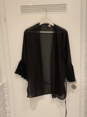 H&M Divided Blusa kimono nero