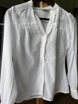 Street One Bluzka ze stójką biały