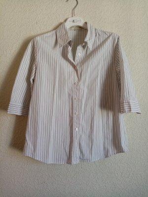 Ann LLewellyn Koszulowa bluzka biały-czarny