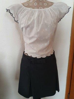 C&A Blouse à manches courtes blanc-noir