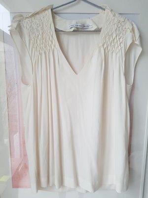& other stories Top koszulowy w kolorze białej wełny