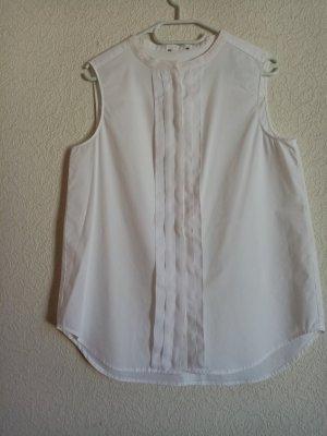 Armani Sleeveless Blouse white