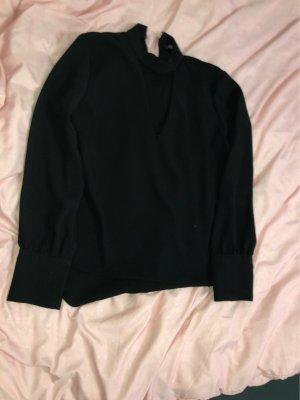 Zara Basic Cols de blouses noir