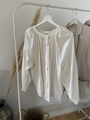 H&M Oversized Blouse natural white-white