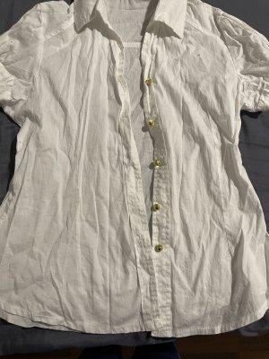 Cols de blouses blanc