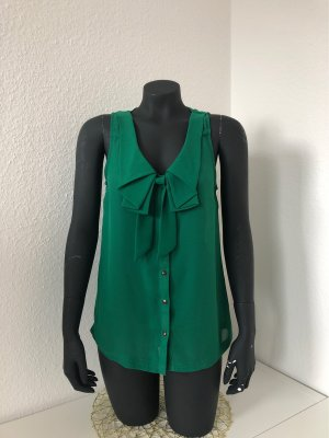 Only Short Sleeved Blouse forest green