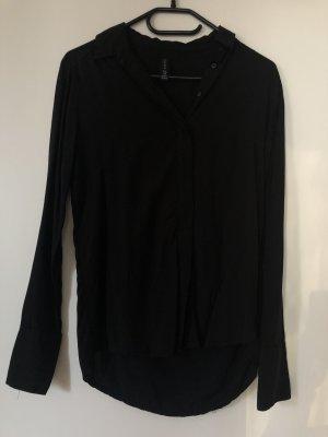 Amisu Colletto camicia nero