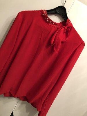 Colletto camicia rosso
