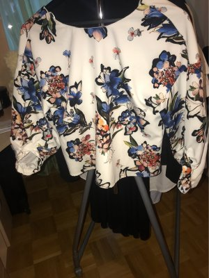 Zara Basic Blouse en crash multicolore