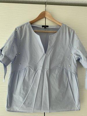 1.2.3 Paris Koszulowa bluzka błękitny-biały