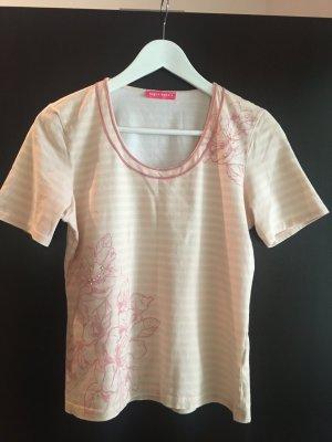 Apriori Camicetta a maniche corte color carne-rosa chiaro Cotone