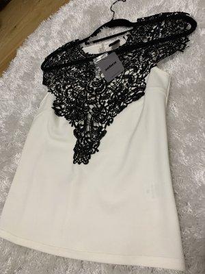 zebra Kimono Blouse black-white