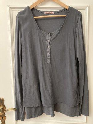 Tandem Camicia blusa grigio ardesia Viscosa