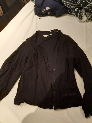 H&M L.O.G.G. Linen Blouse black