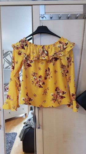Devided von H&M Ruffled Blouse yellow