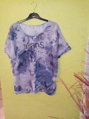 AG Jeans Blusa de manga corta multicolor