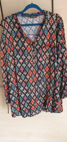 new collection Oversized blouse veelkleurig