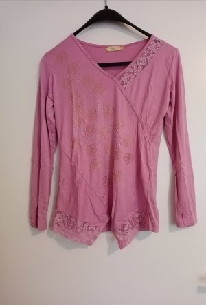 Lace Blouse violet