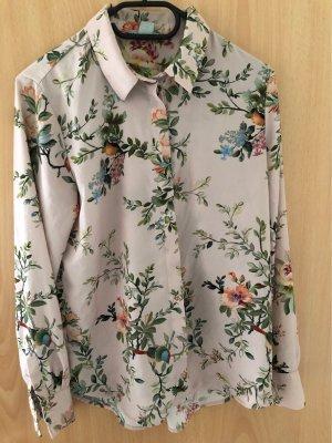 H&M Basic Blusa in seta rosa antico