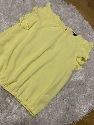 Blusa tipo body amarillo