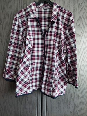 Gerry Weber Checked Blouse black-lilac