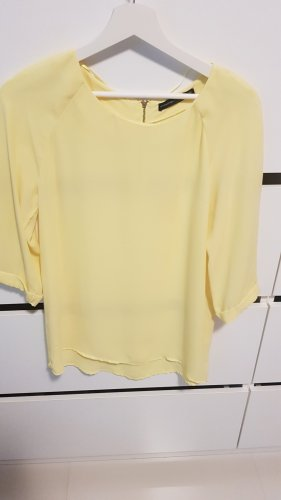 Atmosphere Blusa tipo body amarillo claro
