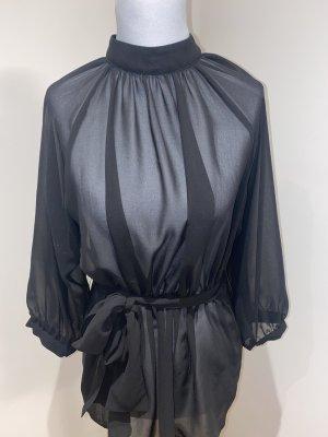 Long Sleeve Blouse black