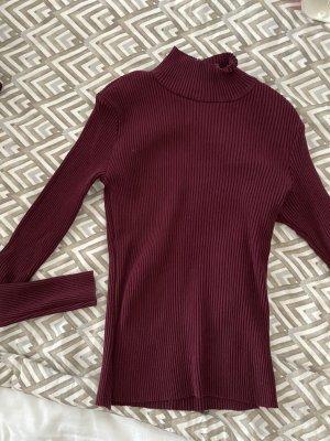 Bershka Colletto camicia viola-marrone-viola
