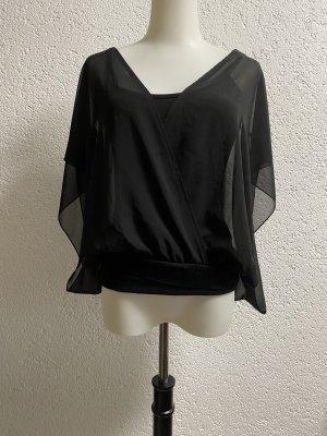 Bon Prix Empiècement de blouses noir
