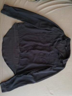 Tally Weijl Transparent Blouse dark blue