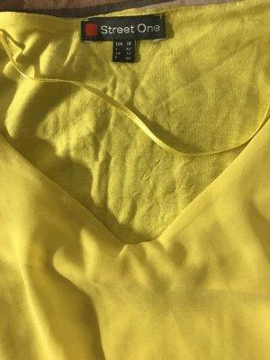 Street One Blusa tipo body amarillo
