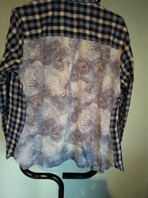 Cecil Geruite blouse veelkleurig