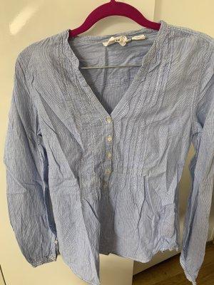 H&M L.O.G.G. Bluzka tunika błękitny