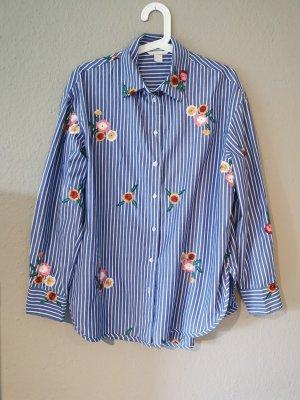 H&M Blusa ancha multicolor