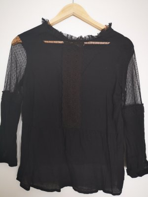 Clockhouse Lace Blouse black