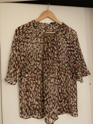 Mango Blouse Shirt bronze-colored
