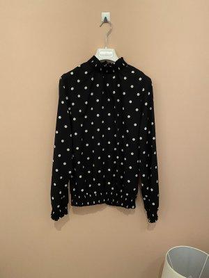 Vero Moda Lange blouse zwart-wit