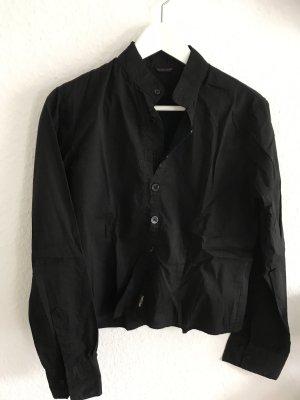 Bluzka ze stójką czarny
